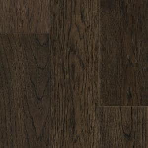 Sepia Brown Hickory 6.5mmT x 6.5in.W x 48in. Varied L. Waterproof Engineered Click Hardwood Flooring (21.67 sq.ft./case)