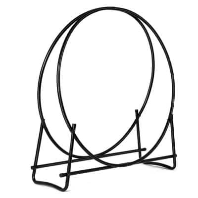38 in. Heavy-Duty Firewood Rack without Cover