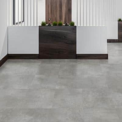 18 in. W x 18 in. L Queens Lace Loose Lay Luxury Vinyl Plank Flooring (36 sq. ft./case)