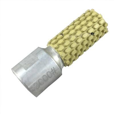1 in. Wet Diamond Polishing Drum Wheel 3000-Grit 5/8-11 Thread