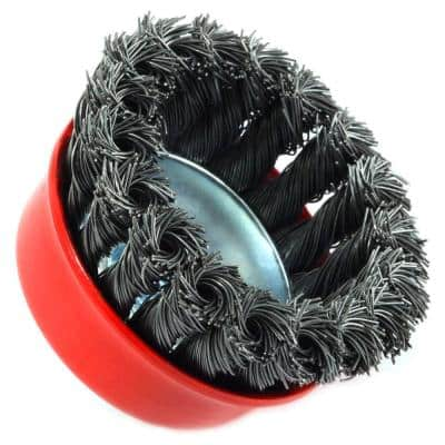 10.50 in. Industrial Wire Brush and Hand Brush Set (7-Piece)