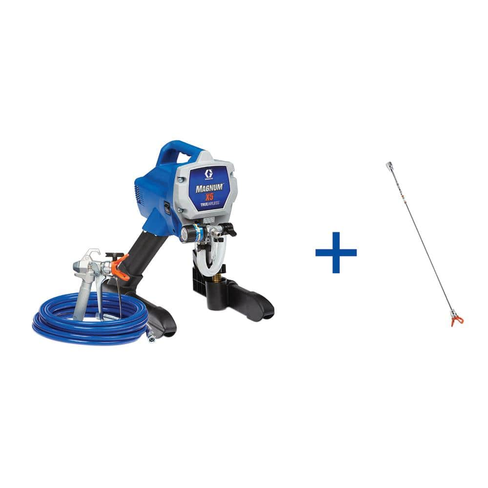 Graco X5 Airless Paint Sprayer with 20 in Tip. Extension