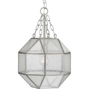 Mauldin 1-Light Brushed Nickel Pendant
