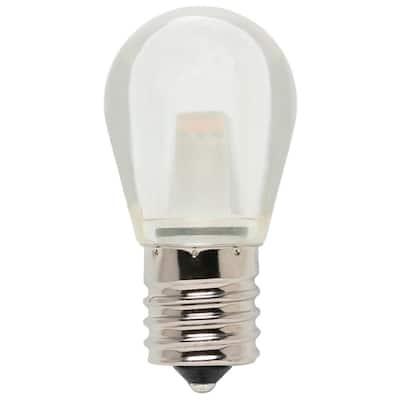 10-Watt Equivalent S11 LED Light Bulb Soft White Light
