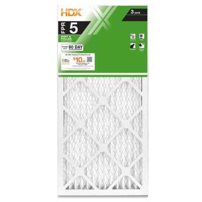 14 x 30 x 1 Standard Pleated Air Filter FPR 5 (3-Pack)