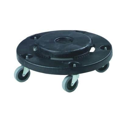 Bronco Trash Can Dolly with Replaceable Casters (2-Pack)