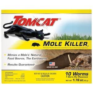 Mole Killer Worm Bait (10-Pack)