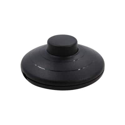 Black Foot Pedal Lamp On/Off Switch