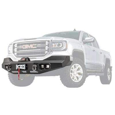 Ascent Front Bumper for GMC-1500 2017