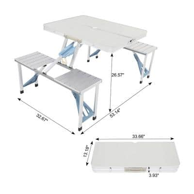 Aluminum Alloy Camping Folding Table and Chair