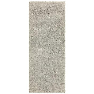 Classic ll Silver 24 in. x 60 in. Cotton Bath Mat