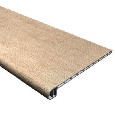 Vinyl Pro Classic Aged Hickory 1 in. T x 11-1/2 in. W x 48-5/16 in. L Vinyl Stair Tread
