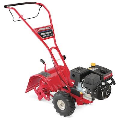 Bronco 14 in. 208 cc OHV Engine Rear Tine Counter Rotating Gas Garden Tiller