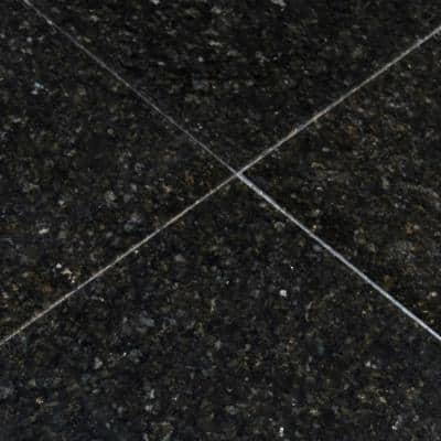 Verde Ubatuba 12 in. x 12 in. Polished Granite Floor and Wall Tile (10 sq. ft./case)
