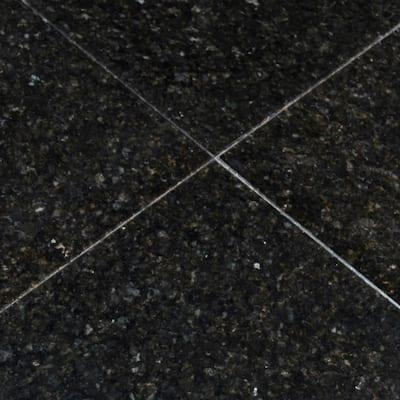 Verde Ubatuba 12 in. x 12 in. Polished Granite Floor and Wall Tile (10 sq. ft./case)