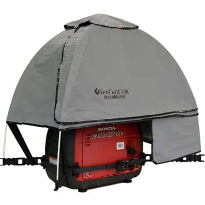 10K Generator Tent Running Cover - XKI (Standard, Grey Skies) for 1K-9K Watt invertor Generators