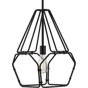 Ballinger 1-Light Black Pendant