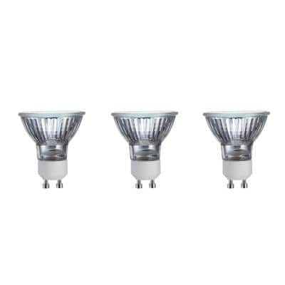 50-Watt MR16 Halogen GU10 TwistLine Dimmable Flood Light Bulb (3-Pack)
