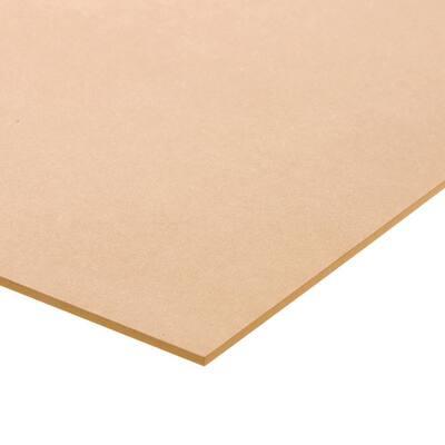 1/4 in. x 12 in. x 18 in. Medium Density Fiberboard