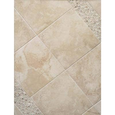 Bombay Arcot Cove Corner Matte 1.02 in. x 5.98 in. Porcelain Wall Tile (0.04 sq. ft.)