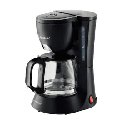 Kitchen Magic Collection 4-Cup Black Coffee Maker