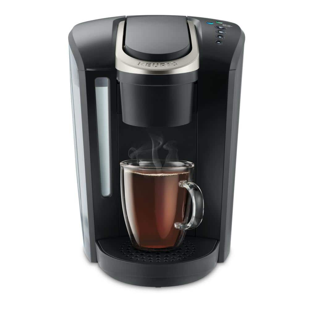 Keurig K-Select Matte Black Single Serve Coffee Maker with Automatic Shut-Off-5000196974 - The Home Depot