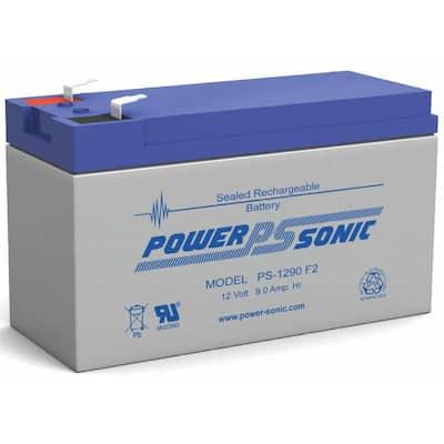 12-Volt 9 Ah F2 Terminal Sealed Lead Acid (SLA) Rechargeable Battery