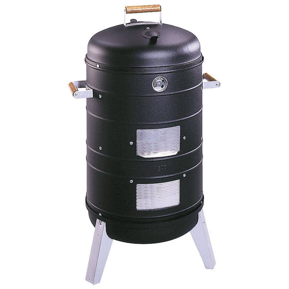 Americana Americana 2 In 1 Charcoal Water Smoker Grill 5031u4 181 The Home Depot