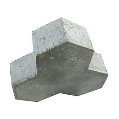 9.8 in. x 9.8 in. Ranch Manor Concrete Paver (Pallet of 126)