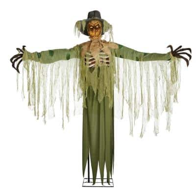 6 ft. Animated Inferno Scarecrow