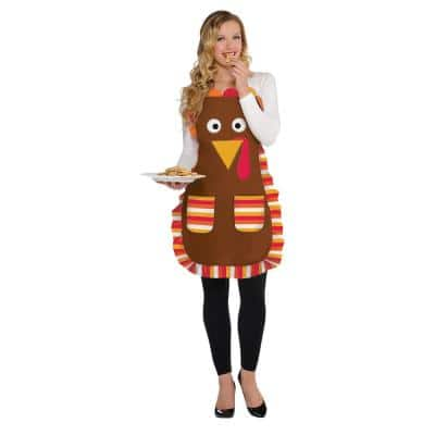 Thanksgiving Turkey Apron (2-Pack)