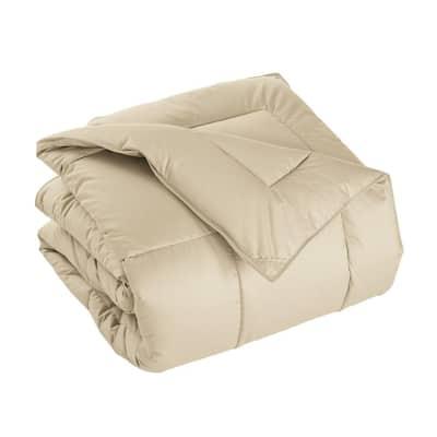 PrimaLoft Deluxe Extra Warmth Alabaster Twin Down Alternative Comforter