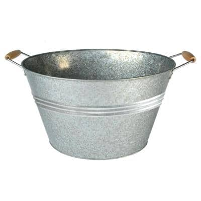 20 Gal. Galvanized Party Tub with Handles