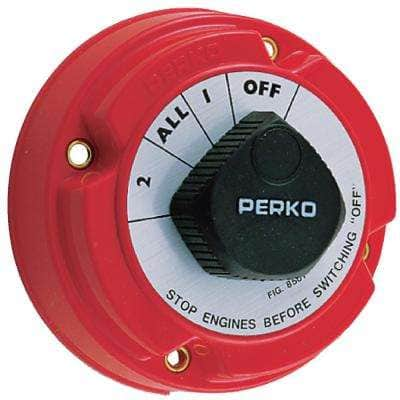Battery Selector Switch in Red