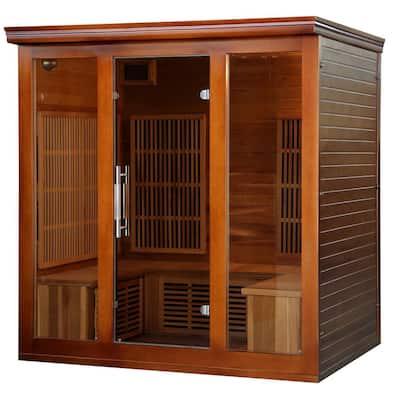 4 to 5-Person Cedar Elite Premium Sauna