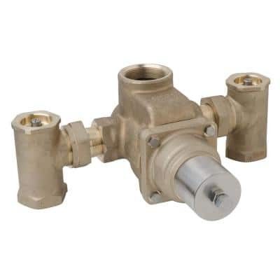 1-1/2 in. x 1-1/2 in. TempControl Thermostatic Mixing Valve and Piping