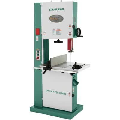 """21"""" 5 HP Industrial Bandsaw with Brake"""
