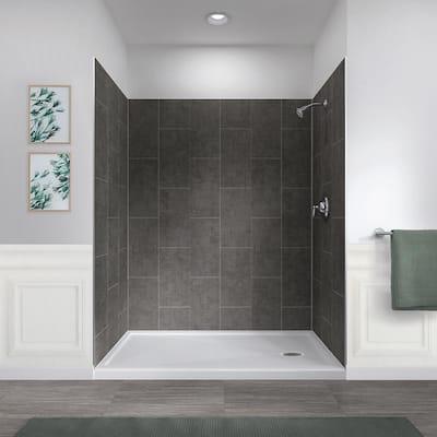 shower walls surrounds showers