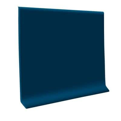 Deep Navy 4 in. x 120 ft. x 1/8 in. Vinyl Wall Cove Base Coil