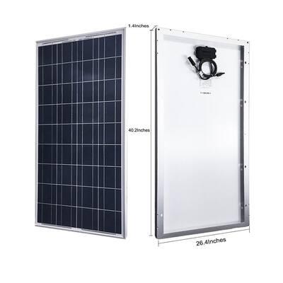 600-Watt Polycrystalline OffGrid Solar Power Kit with 5 x 100-Watt Solar Panel, 50 Amp MPPT Charge Controller