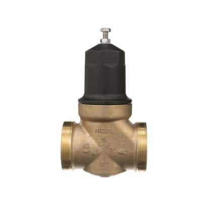 2 in. Lead-Free Bronze Water Pressure Reducing Valve with Double Union Female Copper Sweat