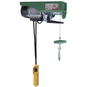 440 lb. Electric Cable Hoist with Wired Control Switch