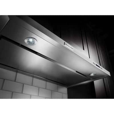 30 in. Convertible Under Cabinet Range Hood in Stainless Steel