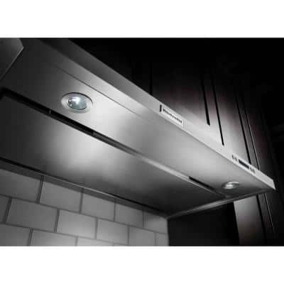 36 in. Convertible Under Cabinet Range Hood in Stainless Steel