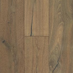 Shasta Oak 7 mm T x 6.5 in. W x Varying Length Waterproof Engineered Click Hardwood Flooring (19.5 sq. ft./case)