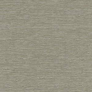 Aspero Taupe Faux Grasscloth Taupe Wallpaper Sample