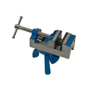 2-1/2 in. Drill Press Vise with Swivel Base