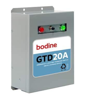 120-277-Volt GTD20A Fluorescent 20-Amp Generator Transfer Device