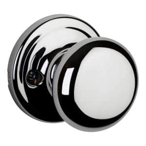 Hancock Polished Chrome Half-Dummy Door Knob
