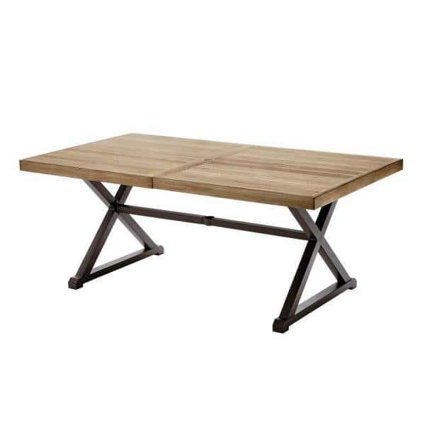 Stylewell Mix And Match 72 In, Outdoor Trestle Table